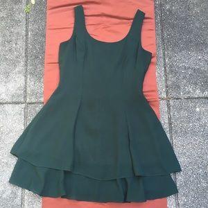 VINTAGE Hampton Nites DRESS Green PETITE 6